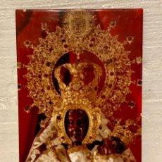 Antigüedades: VIRGEN EN AZULEJO DE CERAMICA. Lote 152236126