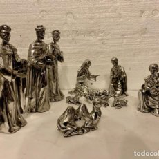 Antigüedades: BELEN MARMOLINA BAÑO INOX. Lote 152236134