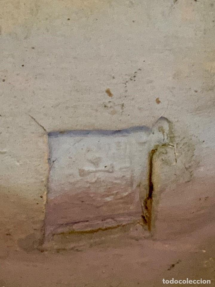 Antigüedades: SAGRADO CORAZON PASTA MADERA OLOT - Foto 3 - 152238530