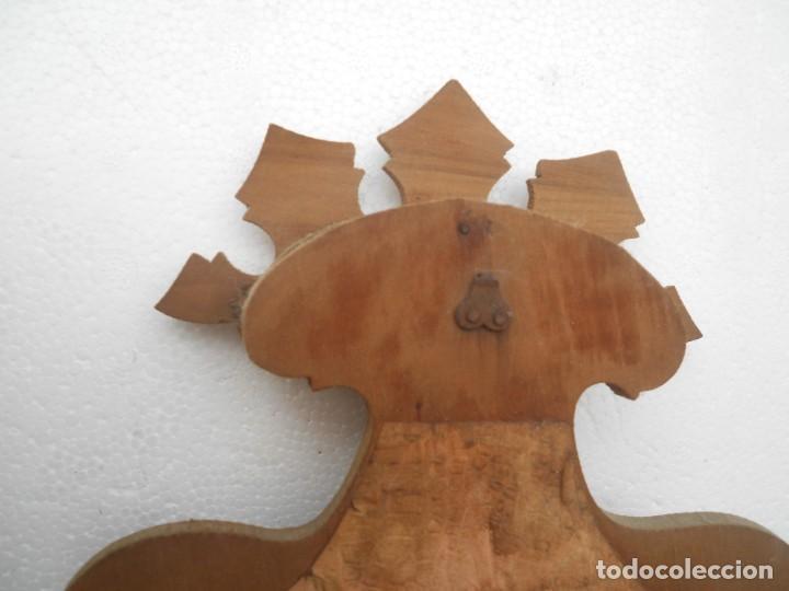 Antigüedades: Benditera sobre madera - Foto 5 - 152275102