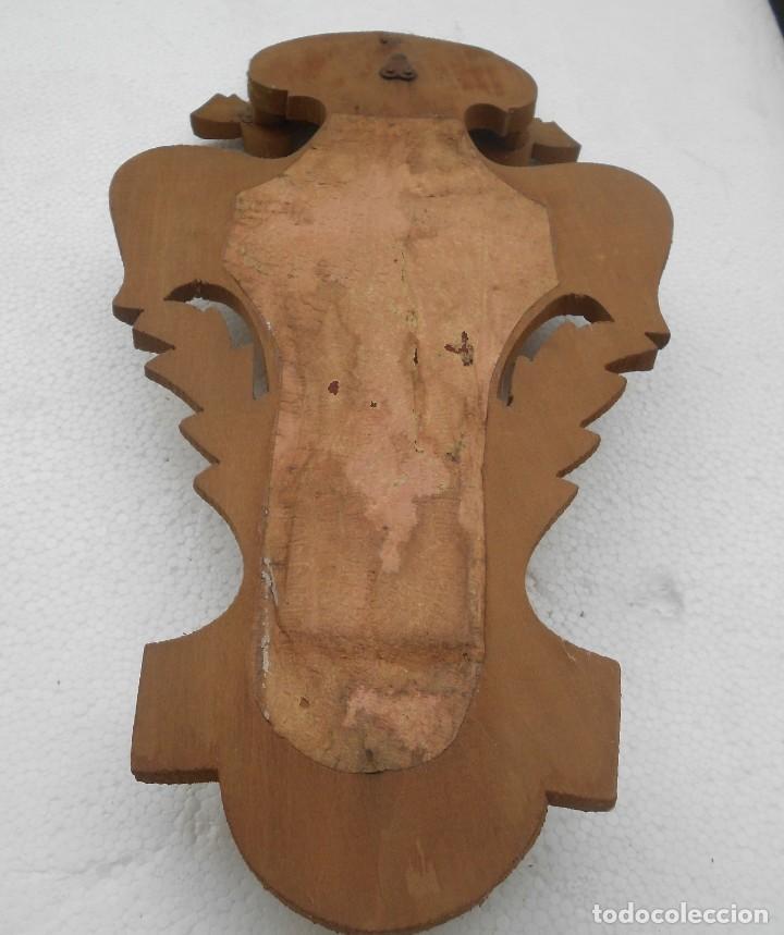 Antigüedades: Benditera sobre madera - Foto 6 - 152275102