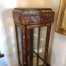 Antigüedades: VITRINA MARMOLADA S.XIX. Lote 152300184