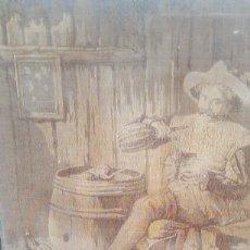 Antigüedades: TAPIZ ESCENADE LOS TRES MOSQUETEROS.. Lote 152302450