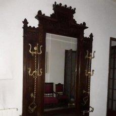 Antigüedades: PARAGÜERO / COLGADOR. Lote 152305882