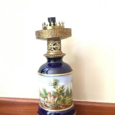 Antigüedades - Lampara porcelana Sevres - 152306526