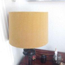 Antigüedades - LAMPARA MESA PIE HIERRO - 151902606