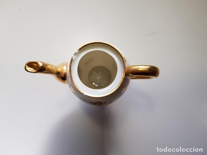 Antigüedades: PEQUEÑA CAFETERA LIMOGES FRANCE - Foto 2 - 152342186