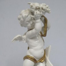 Antigüedades: AMORCILLO ALEGORIA DE LA PRIMAVERA. ALGORA. Lote 152351438