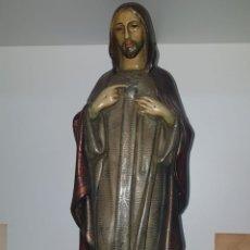 Antigüedades: SAGRADO CORAZON 43CMS. Lote 152382484