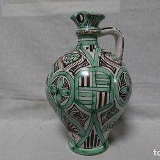 Antigüedades: JARRA DE PORCELANA DE TERUEL, NO SELLADA EN BASE, LEER DESCRIPCIÓN . Lote 152395502