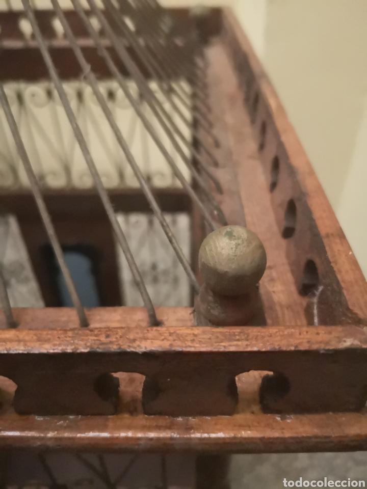 Antigüedades: JAULA ALAMBRE Y MADERA - Foto 11 - 152454194