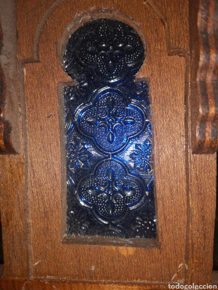 Antigüedades: JAULA ALAMBRE Y MADERA - Foto 12 - 152454194