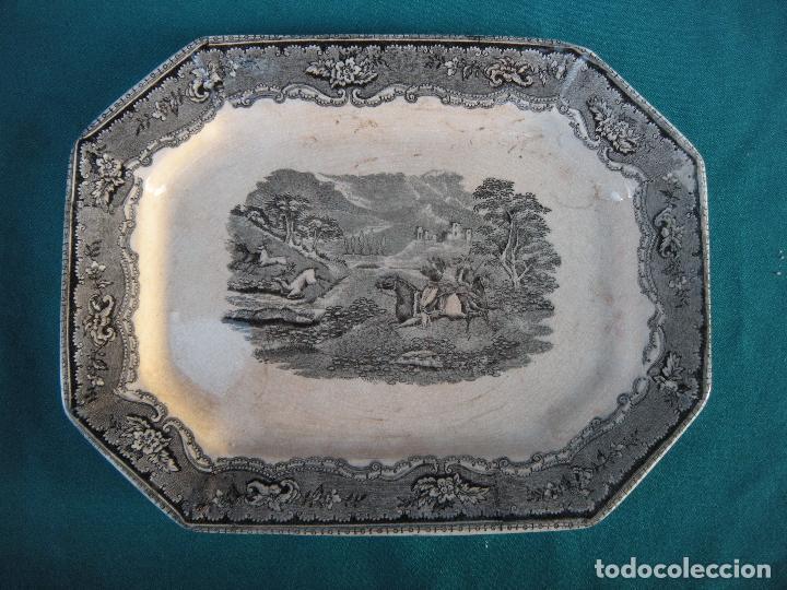 FUENTE OCHAVA LA AMISTAD CARTAGENA (Antigüedades - Porcelanas y Cerámicas - Cartagena)