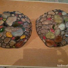 Antigüedades: IMPRESIONANTES APLIQUES ESTILO TIFFANY!!!!. Lote 152476858