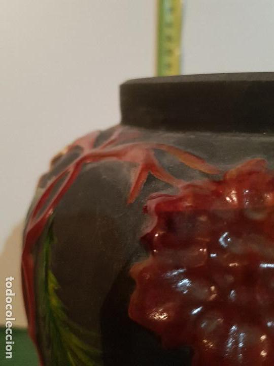 Antigüedades: JARRON, BUCARO VIDRIO SOPLADO - Foto 6 - 152478506