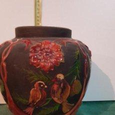Antigüedades: JARRON, BUCARO VIDRIO SOPLADO. Lote 152478506
