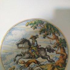 Antigüedades: RUIZ DE LUNA TALAVERA ANTIGUO Y PRECIOSO PLATO. Lote 152483834