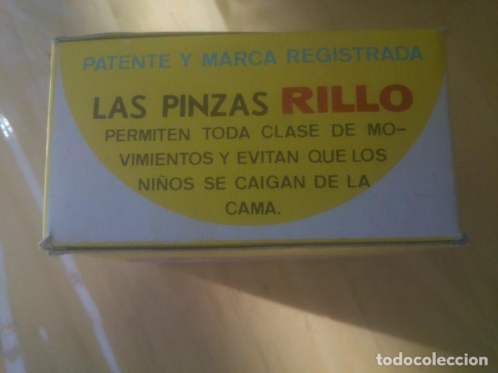 Antigüedades: ANTIGUAS PINZAS SUJETA-CAMAS RILLO - Foto 4 - 154222628