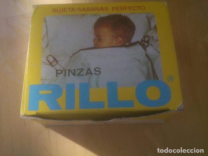 Antigüedades: ANTIGUAS PINZAS SUJETA-CAMAS RILLO - Foto 6 - 154222628