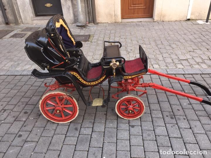 Antigüedades: Carruaje de poni - Foto 2 - 180210911