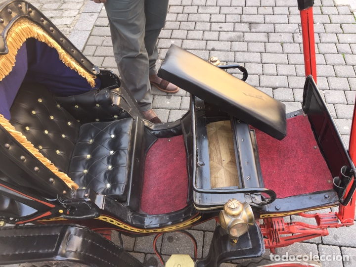 Antigüedades: Carruaje de poni - Foto 7 - 180210911