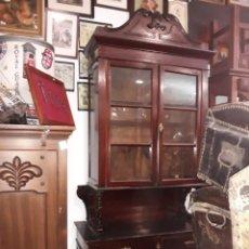 Antigüedades: MUEBLE VITRINA. Lote 152526026
