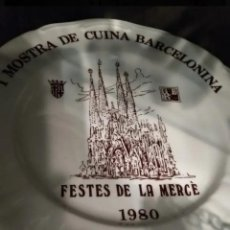 Antigüedades: 10 PLATOS FESTIVIDAD MERCÈ. Lote 152543166