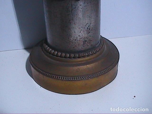 Antigüedades: EXCELENTE VIRGEN DEL PILAR EN PLATA. FINALES S.XIX. - Foto 5 - 152577142