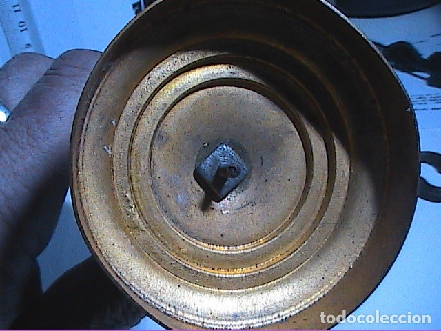 Antigüedades: EXCELENTE VIRGEN DEL PILAR EN PLATA. FINALES S.XIX. - Foto 9 - 152577142