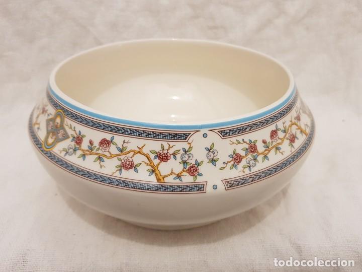 ENSALADERA DE CERÁMICA DE SAN CLAUDIO . (Antigüedades - Porcelanas y Cerámicas - San Claudio)