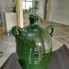 Antigüedades: VASIJA BARRO VIDRIADO. Lote 152620246
