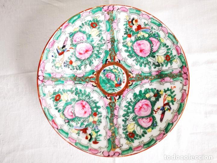PLATO PORCELANA CHINA. MACAO. MEDIADOS S XX (Antigüedades - Porcelanas y Cerámicas - China)