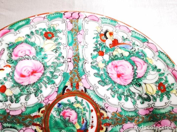 Antigüedades: PLATO PORCELANA CHINA. MACAO. MEDIADOS S XX - Foto 2 - 152621394
