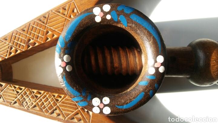 Antigüedades: 3 casca nueces en madera - Foto 4 - 152633769