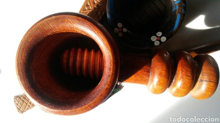 Antigüedades: 3 casca nueces en madera - Foto 5 - 152633769