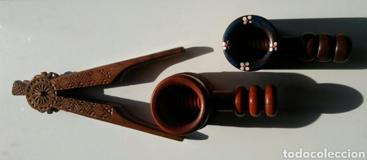 Antigüedades: 3 casca nueces en madera - Foto 7 - 152633769