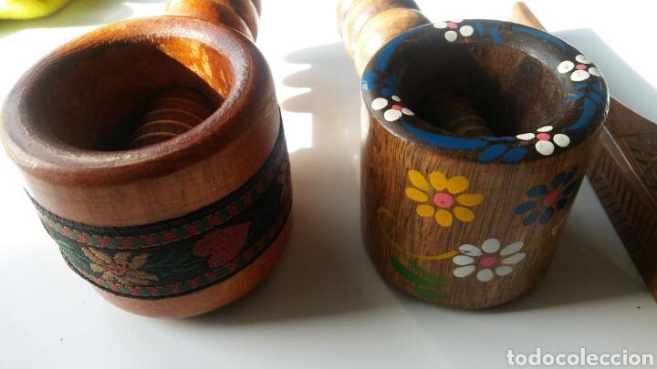 Antigüedades: 3 casca nueces en madera - Foto 6 - 152633769