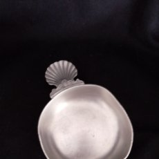 Antigüedades - Antiguo catavinos o taza en acero - 152638446