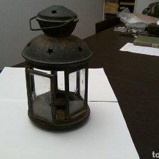 Antigüedades: FAROLITO DE SOBREMESA. Lote 152646248