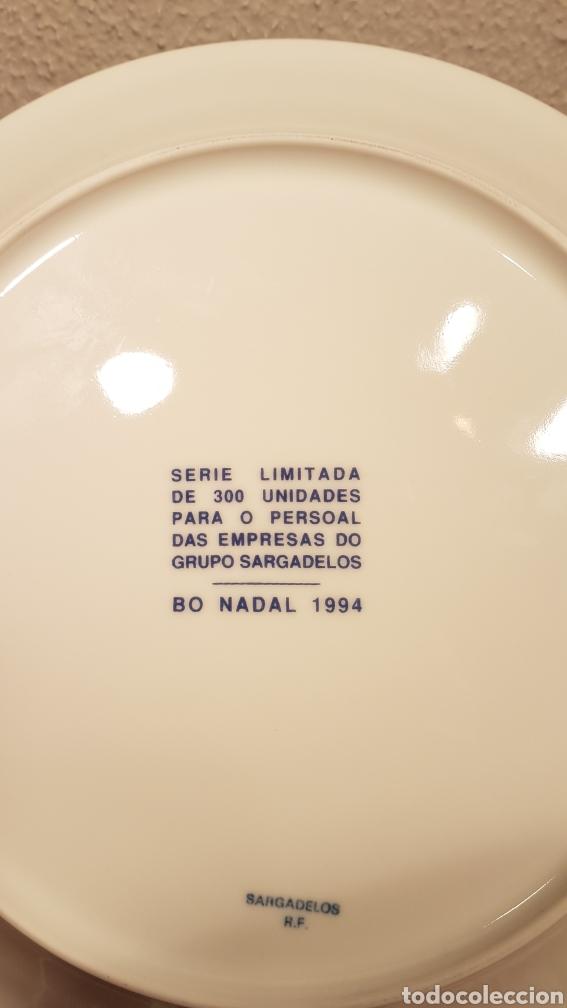 Antigüedades: PLATO DE PORCELANA SARGADELOS SERIE LIMITADA 300 UNIDADES. - Foto 4 - 152648617