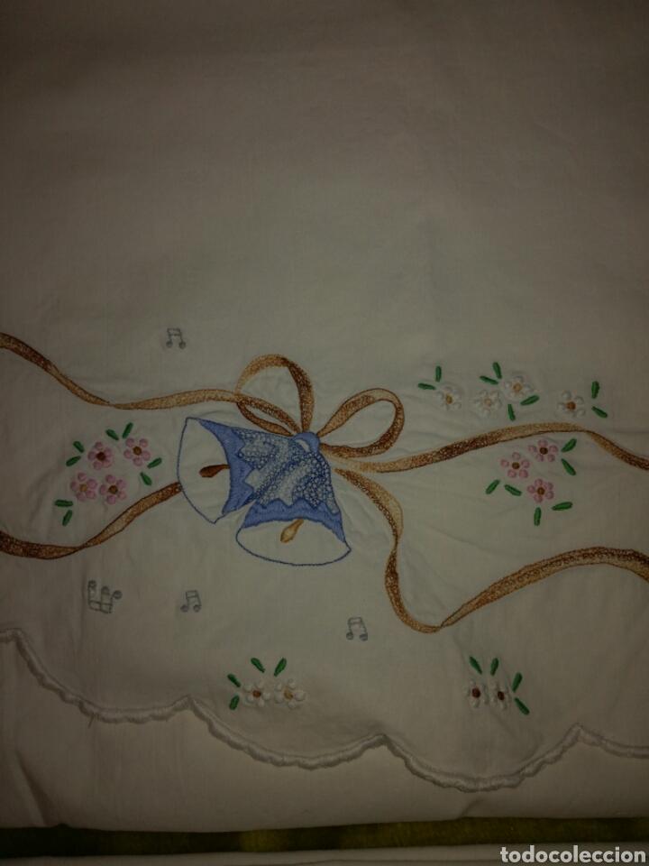 Antigüedades: Juego de sábanas de cuna - Foto 3 - 152667720