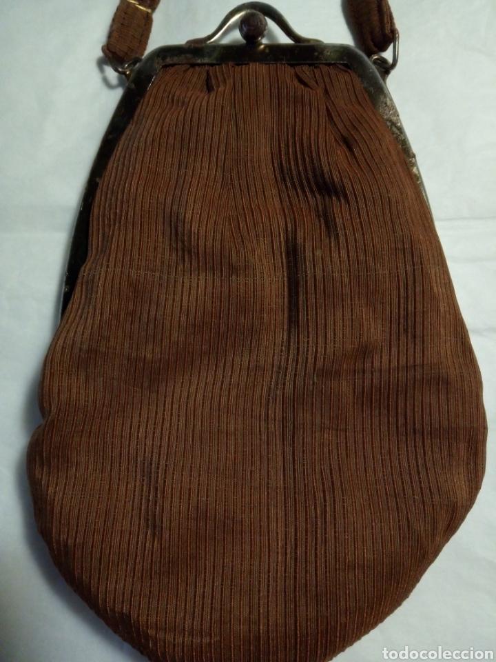 Antigüedades: Antiguo bolso de mano, principios del siglo XX - Foto 2 - 152670012