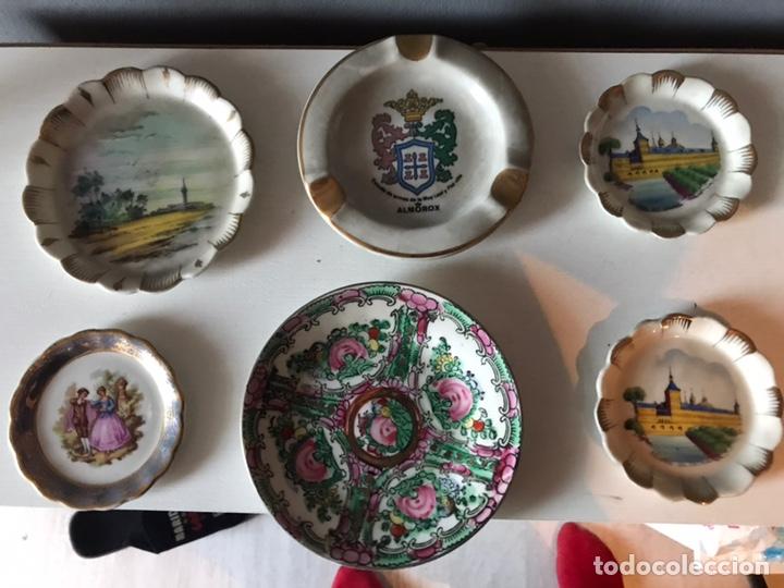 Antigüedades: Lote de platos antiguos decorativos - Foto 4 - 152681472