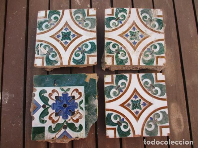 AZULEJOS MENSAQUE RODRIGUEZ (Antigüedades - Porcelanas y Cerámicas - Azulejos)