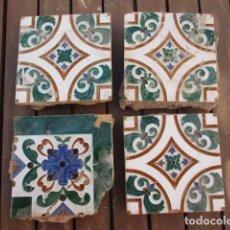 Antigüedades: AZULEJOS MENSAQUE RODRIGUEZ. Lote 152686910