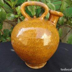 Antigüedades: ALFARERÍA CATALANA: CÀNTIR D'OLI DE FIGUERES. Lote 152757302