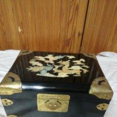 Antigüedades: CAJA JOYERO CHINO. Lote 162417294