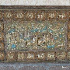 Antigüedades: TAPIZ BIRMANO SIGLO XIX. Lote 152845954