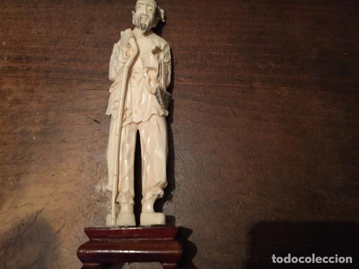 FIGURA MARFIL (Antigüedades - Varios)