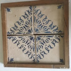 Antigüedades: AZULEJO CERAMICA CATALANA. Lote 152858442